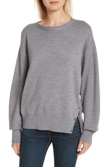 rag & bone Saralyn Merino Wool & Cotton Blend Crewneck Sweater