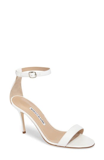 Manolo Blahnik 'Chaos' Ankle Strap Sandal (Women)
