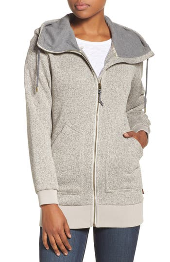 Burton Minxy DRYRIDE Thermex Sweater Knit Fleece Hoodie