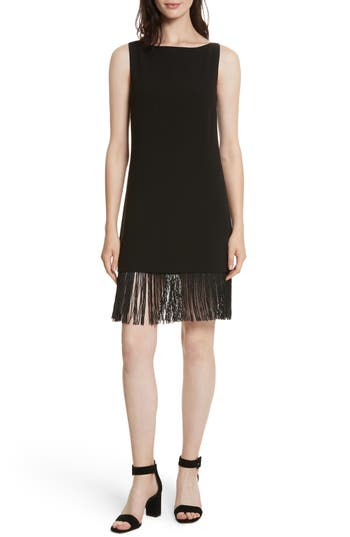 Elizabeth and James Ekon Fringe Hem Dress
