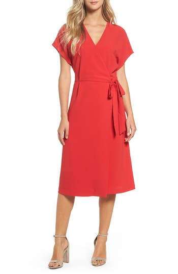 Felicity & Coco Wrap Dress (Regular & Petite) (Nordstrom Exclusive)