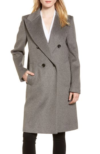 DKNY Lavish Wool Blend Coat