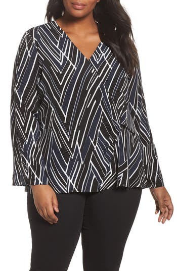 NIC+ZOE Bells and Whistles Top (Plus Size)