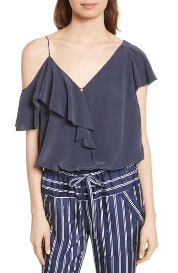 Alcyoneus Off The Shoulder Silk Top by Joie