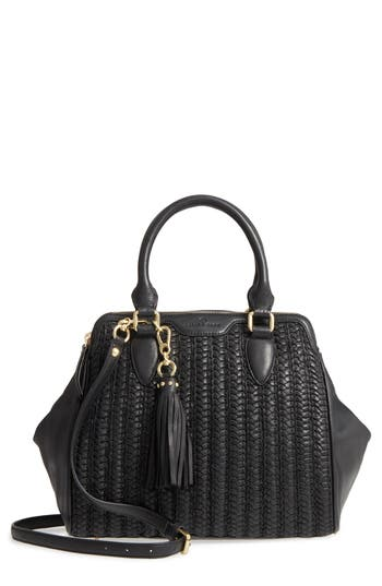 C?line Dion Medley Braided Leather Satchel