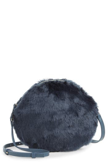 Furla Caos Faux Fur Crossbody Bag