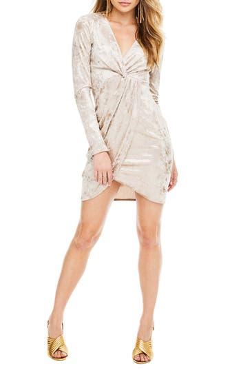 ASTR the Label Mandy Velvet Dress