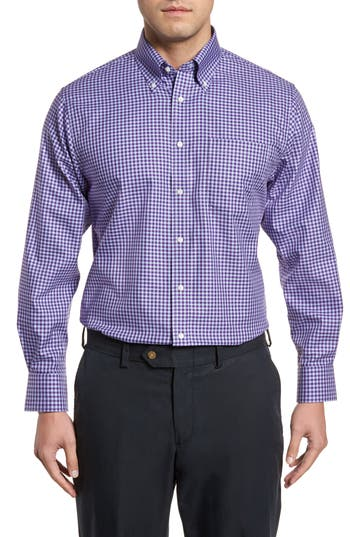 Nordstrom Men S Shop Traditional Fit Non Iron Gingham