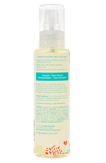 Alternate Image 3  - The Honest Company Organic Body Oil