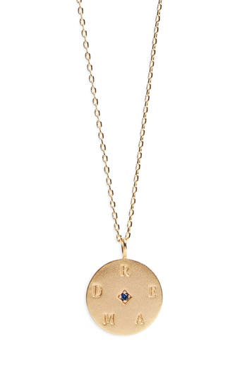 Pendant Necklace by Lulu Dk