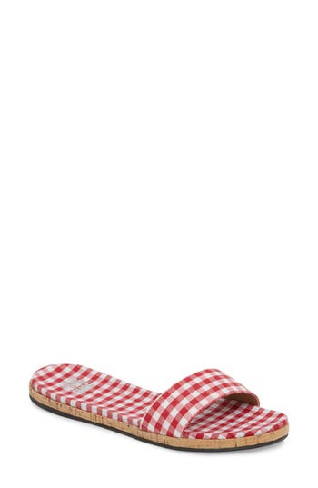 Jill Thin Band Slide Sandal by Jane And The Shoe