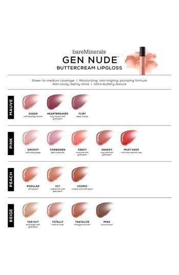 Alternate Image 2  - bareMinerals® Gen Nude™ Buttercream Lipgloss
