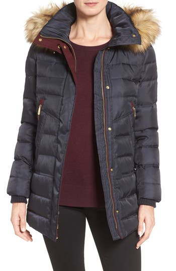 Vince Camuto Quilted Coat ..