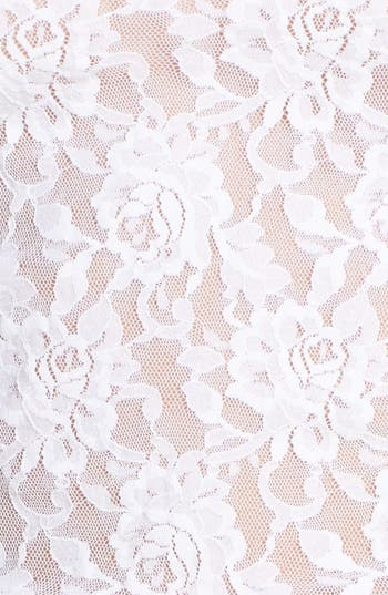 Lace Camisole,                             Alternate thumbnail 4, color,                             White
