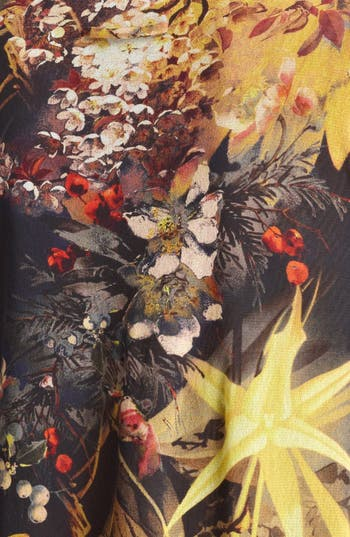 Alternate Image 3  - Jean Paul Gaultier Fuzzi Floral Print Tulle Tunic