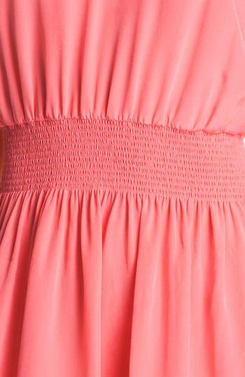 Alternate Image 3  - Rebecca Taylor Silk Blouson Dress