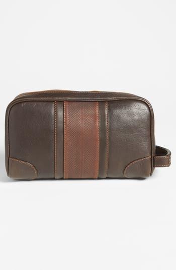 Alternate Image 2  - Martin Dingman Leather Travel Kit