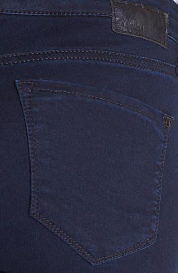 'Alexa' Midrise Skinny Jeans,                             Alternate thumbnail 3, color,                             Dark Shanty