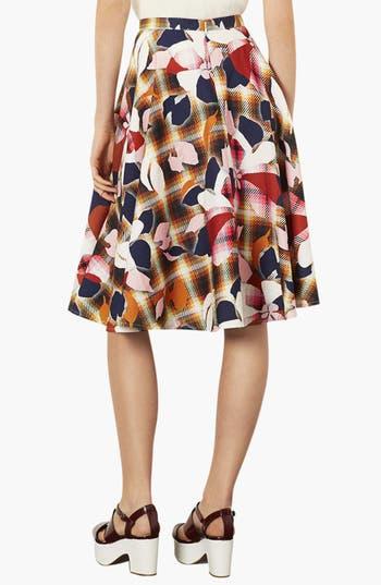 Alternate Image 2  - Topshop 'Marigold' Midi Skater Skirt
