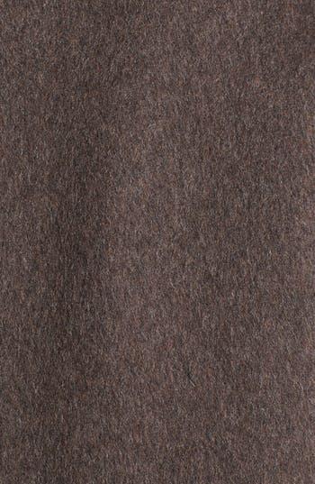 Alternate Image 3  - Ellen Tracy Faux Fur Trim Wool Blend Coat (Online Only)