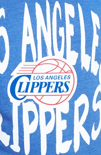 Alternate Image 3  - Sportiqe 'Los Angeles Clippers' Wide Neck Fleece Sweatshirt (Juniors) (Online Only)