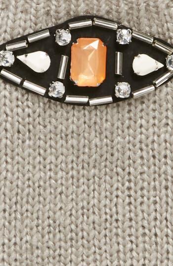 Alternate Image 2  - Tildon Jeweled Fingerless Gloves