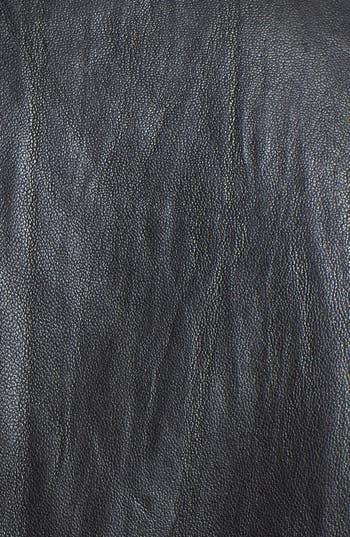 Alternate Image 3  - John Varvatos Collection 'Nappa' Leather Biker Jacket