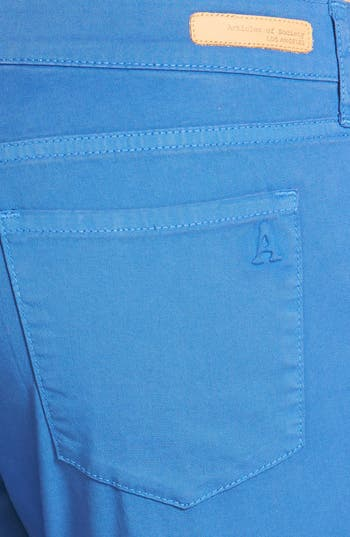 Alternate Image 3  - Articles of Society 'Cindy' Skinny Cotton Trousers (Juniors)