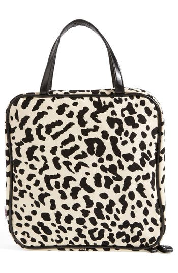 Alternate Image 2  - steph&co. 'Marissa - Leopard' Nylon Cosmetics Case (Nordstrom Exclusive)