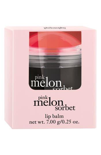 Alternate Image 2  - philosophy 'pink melon sorbet' lip balm (Limited Edition)