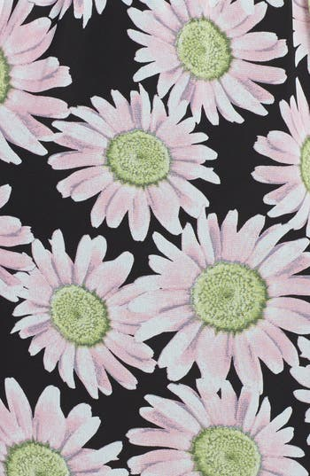 Alternate Image 3  - Mimi Chica Floral Print Chiffon Halter Maxi Dress (Juniors)