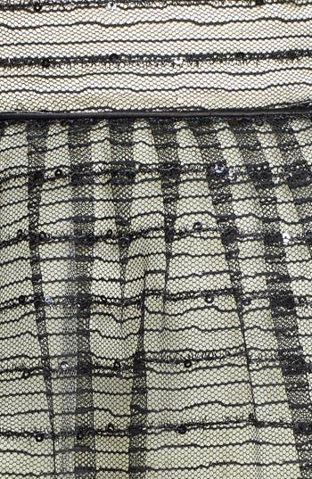 Alternate Image 3  - a. drea Glitter Textured Fit & Flare Dress (Juniors)