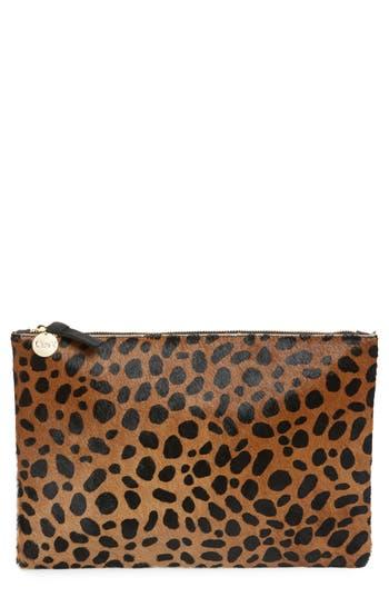 Clare V. Leopard Print Genuine..