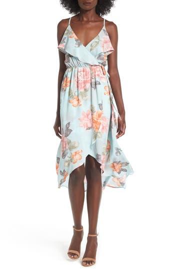 Soprano Ruffle Surplice Dress