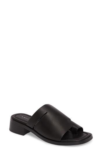 Grey City Percy Toe-Loop Slide Sandal (Women)