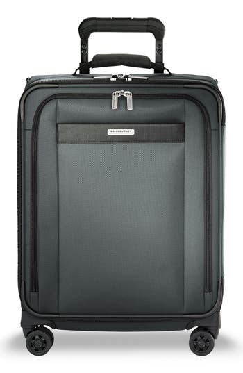 Briggs & Riley Transcend VX Wide Expandable 21-Inch Spinner Suitcase