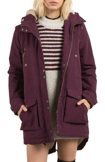 Volcom Walk On By Hooded P..