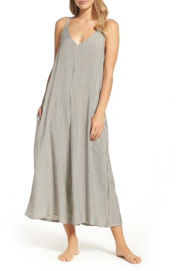 LACAUSA Stripe Jumpsuit