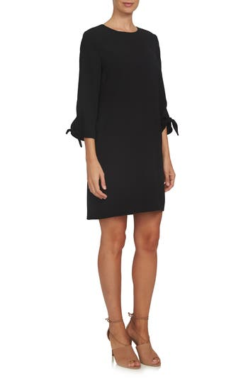 CeCe Tie Sleeve Shift Dress