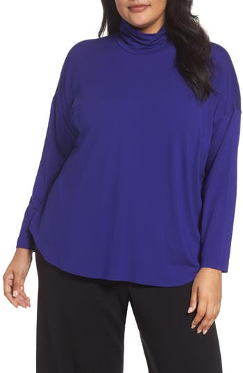Eileen Fisher Turtleneck Tunic (Plus Size)