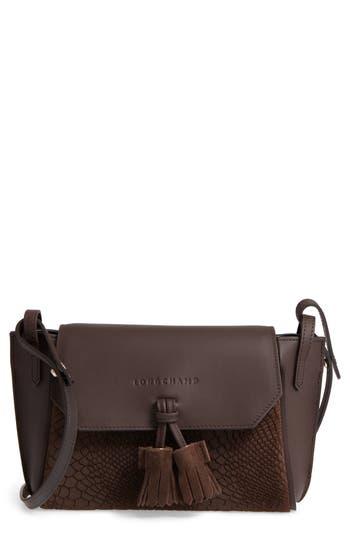 Longchamp Small Penelope Leather Crossbody Bag