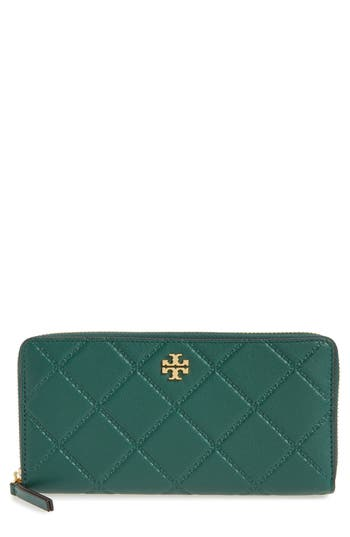 Tory Burch Monroe Leather Cont..