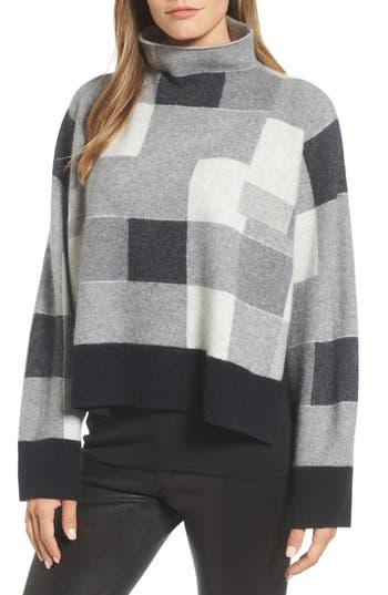 Nordstrom Signature Check Plaid Cashmere Sweater