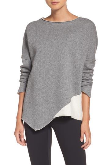 ALALA Exhale Asymmetrical Sweater