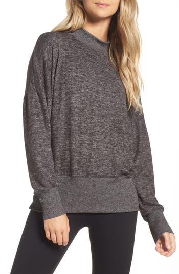 Zella Cozy Mock Neck Pullover