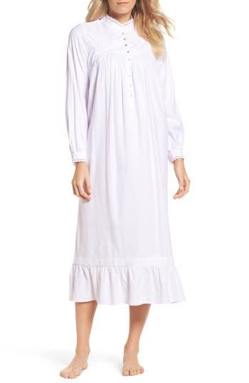 Eileen West High Neck Cotton Nightgown