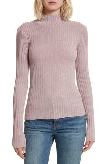 Rebecca Taylor Rib Turtleneck Pullover