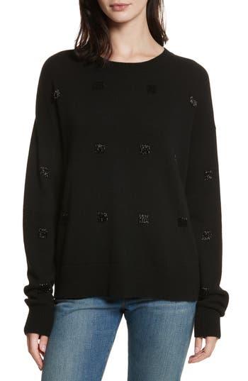 Elizabeth and James Fionn Beaded Fringe Sweater