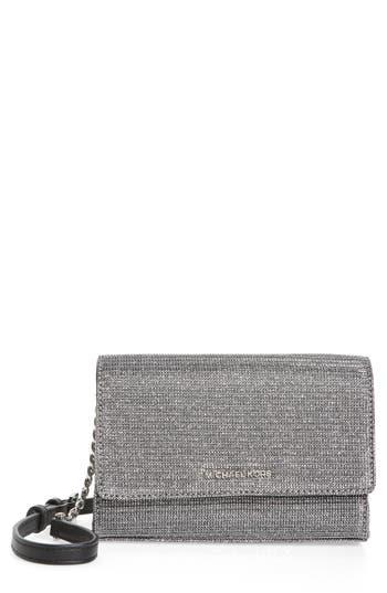 MICHAEL Michael Kors Medium Ruby Convertible Leather Clutch