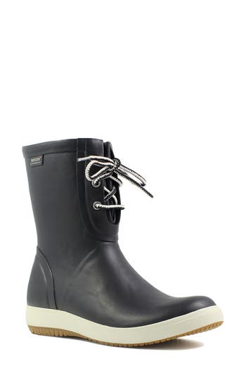 Bogs Quinn Lace-Up Rain Boot (..